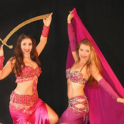 belly-dancers